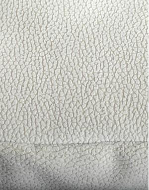 détail matière lit pour chien résistant Clébard - concept, couleur écru