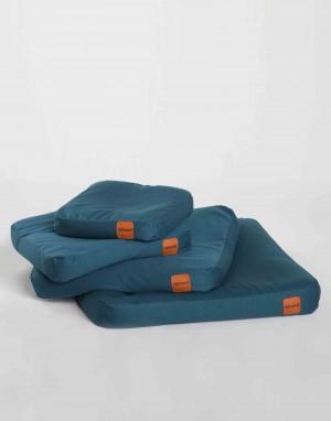 collection coussin pour chien Clébard concept - Bleu Paon