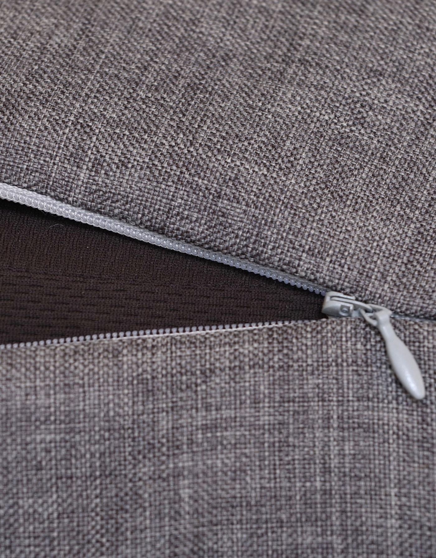 Housse de remplacement pour coussin Clébard-concept - Linen - Medium Grey