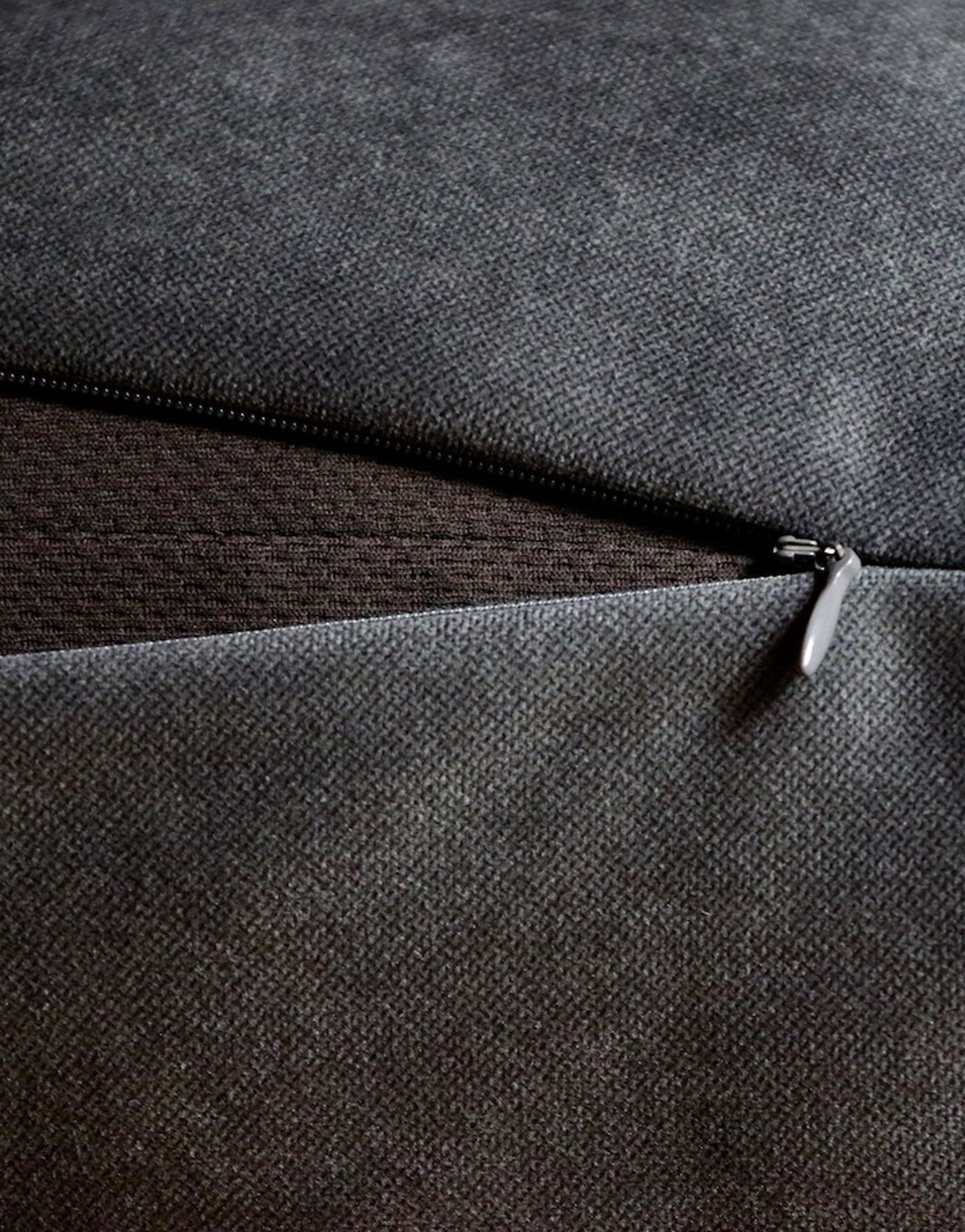 Replacement Outer Cover for Clébard-concept dog's cushion -  Velvet Taupe Grey