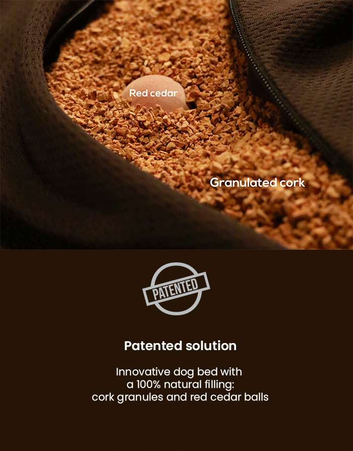 dog bed 100% natural filling